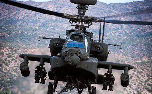 helicoptere apache