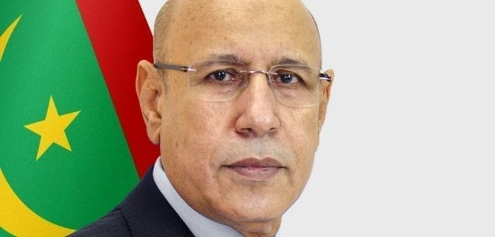 portrait Mohamed Cheikh Ould Ghazouani
